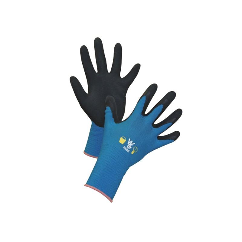 Kinderhandschoen Keron blauw mt 8-11 jaar
