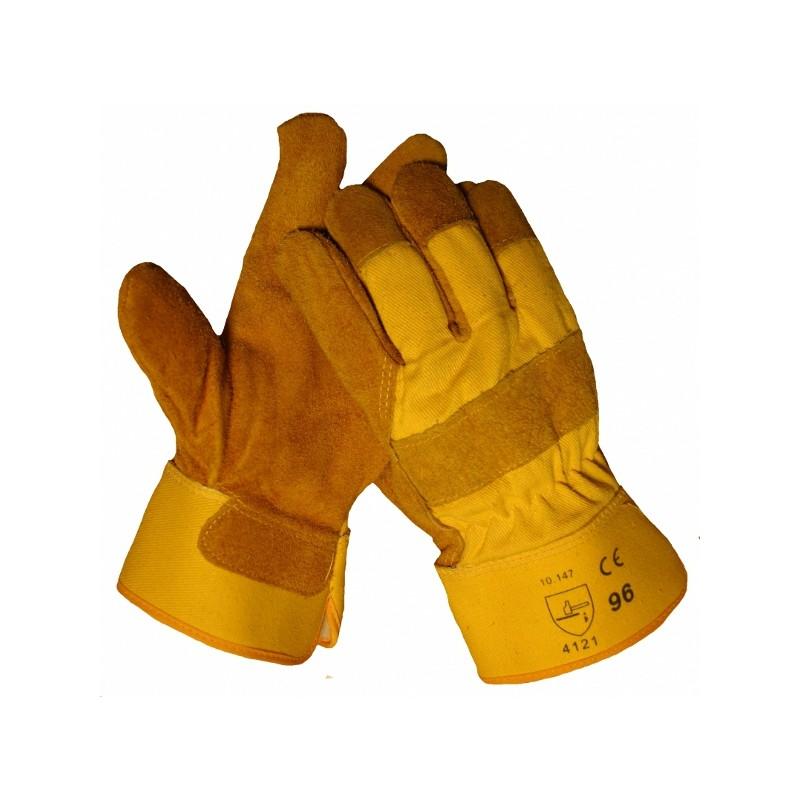 Handschoen splitleer Foamgevoerd