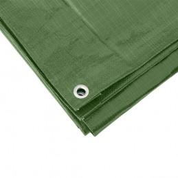 Afdekzeil groen 6 x 8 meter