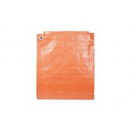 Afdekzeil Oranje 6 x 8 meter