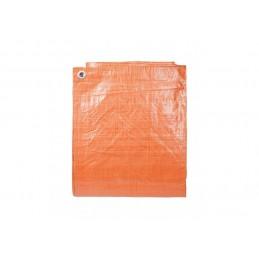 Afdekzeil Oranje 10 x 12 meter