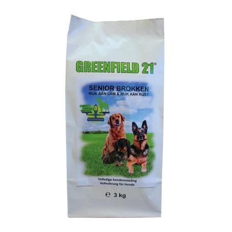 Greenfield 21 lam & rijst senior 3 kg