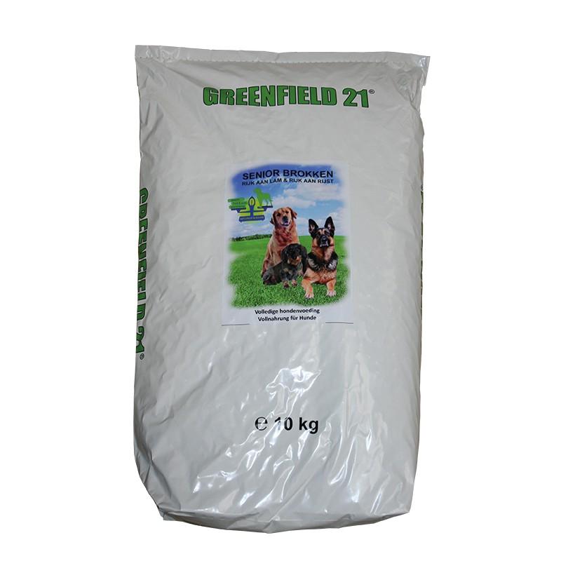 Greenfield 21 lam & rijst senior 10 kg