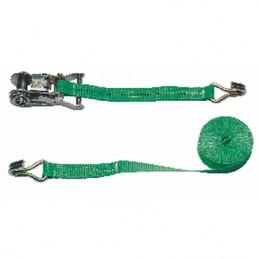 Spanband 6m/ 25mm groen