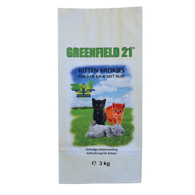 Greenfield 21 kitten brokjes 3 kg