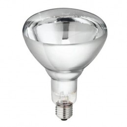 Philips warmtelamp 150 watt wit
