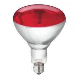 Philips warmtelamp 250 watt rood