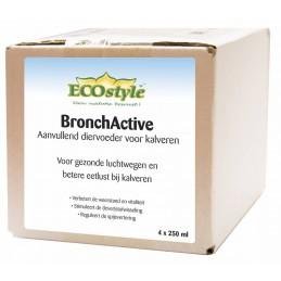BronchActive Ecostyle 4x250ml voordeelpak