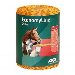 AKO EconomyLine schrikdraad geel/oranje 0.20mm 250m
