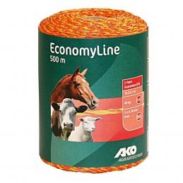 AKO EconomyLine schrikdraad geel/oranje 0.16mm 500m