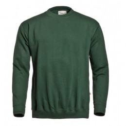 Sweater ronde hals groen