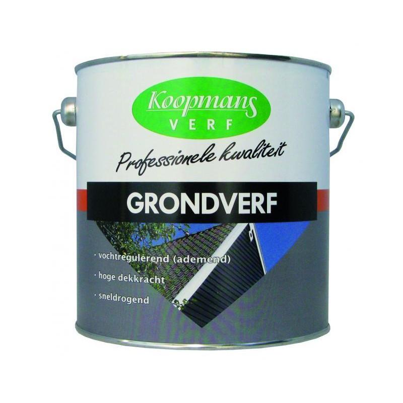 Koopmans grondverf donkergrijs 250 ml