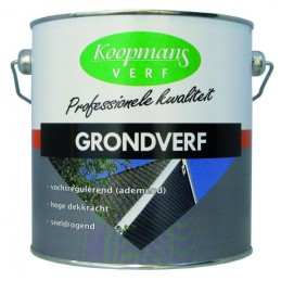 Koopmans grondverf donkergrijs 2.5 L