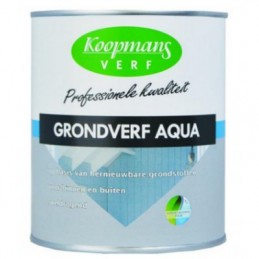 Koopmans grondverf Aqua wit 750 ml