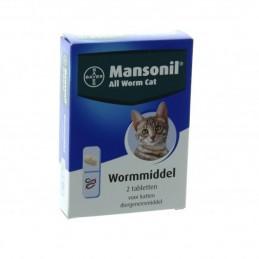 Katten Wormmiddel Mansonil 2 tabletten