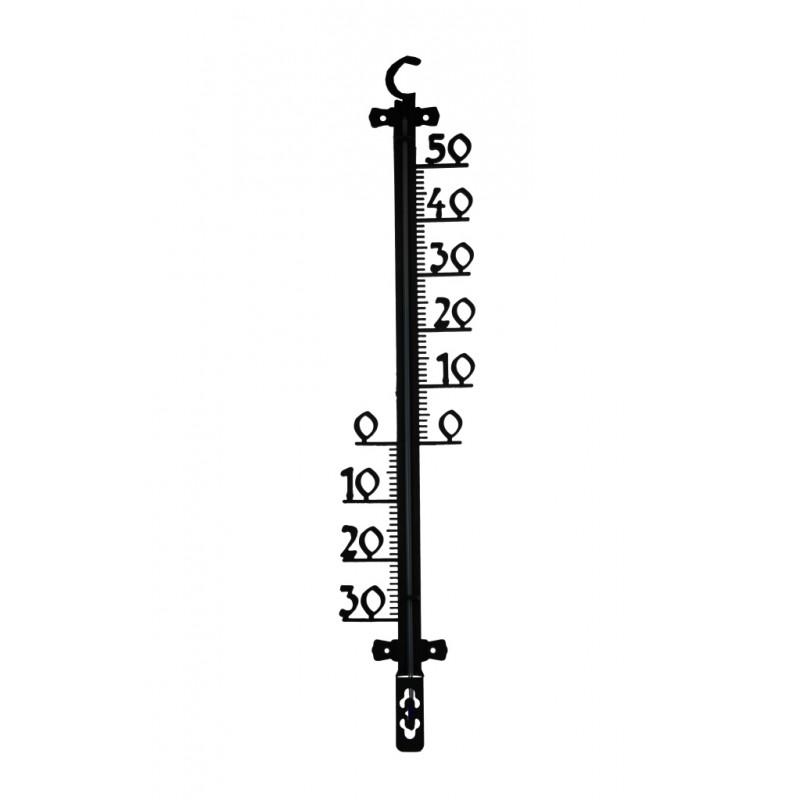Buiten Thermometer kunststof 25 cm