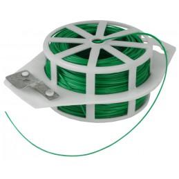 Binddraad groen 100 meter geplastificeerd