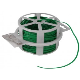 Binddraad groen 50 meter geplastificeerd