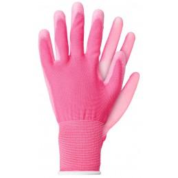 Handschoenen polyester roze