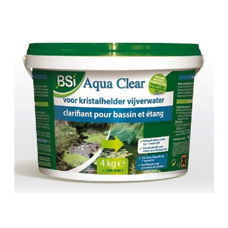 Aqua clear 4 kg bsi for Zwembadbenodigdheden