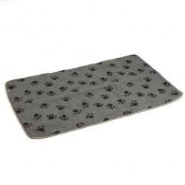 Benchkussen met voetprint grijs 78 x 55cm Beeztees