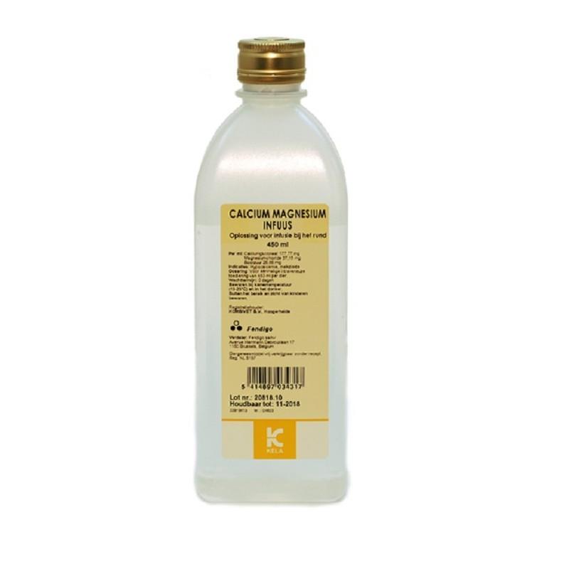 Calcium magnesium infuus 450ml