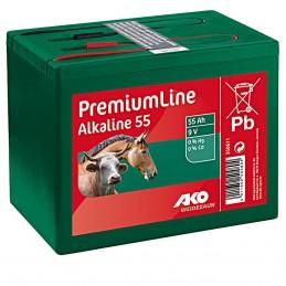 Ako alkaline batterij 9V 55ah