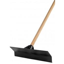 Kunststof stalkrabber zwart 45 cm