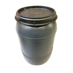 Voerton met schroefdeksel 120 liter