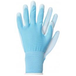 Handschoenen polyester blauw S