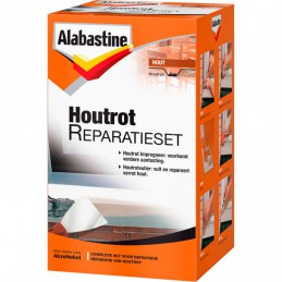 Alabastine houtrotvuller set 500 g