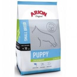 Arion hond premium puppy Small Kip en rijst 3kg