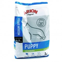 Arion Puppybrok original medium kip en rijst 3 kg