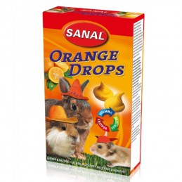 Sanal Orange Drops voor knaagdieren 45 gram