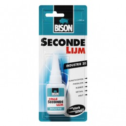 Bison Industrie secondelijm 20gr