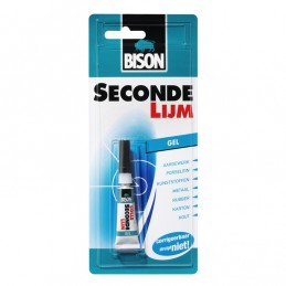 Bison secondelijm gel 3gr