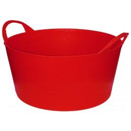 Flexibele Tuinmand 10 liter rood