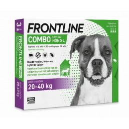 Frontline Combo hond L 20-40 kg 3 pip.