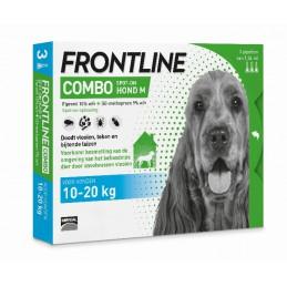 Frontline Combo hond M 10-20 kg 3 pip.