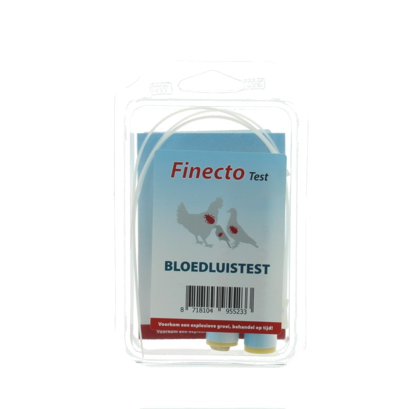 Finecto+ bloedluis test 2st