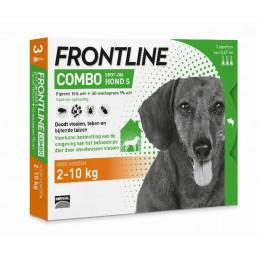 Frontline Combo hond S 2-10 kg 3 pip.
