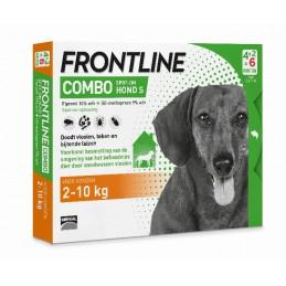 Frontline Combo hond S 2-10 kg 6 pip.