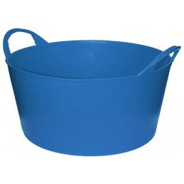 Flexibele Tuinmand 10 liter licht blauw