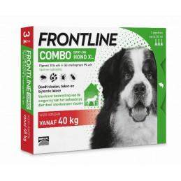 Frontline Combo hond XL vanaf 40 kg 3 pip.