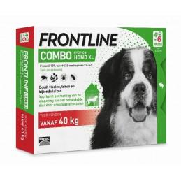 Frontline Combo hond XL vanaf 40 kg 6 pip.