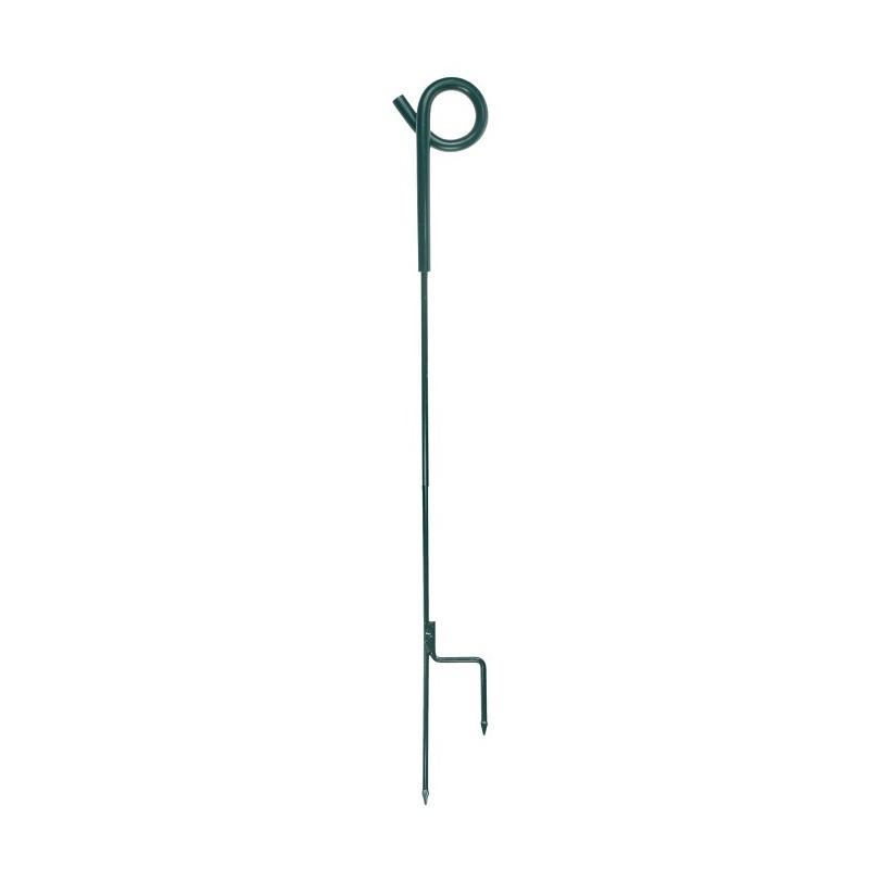 Krulstaartpaal groen 105cm 8mm