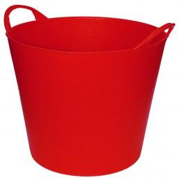 Flexibele Tuinmand 20 liter rood