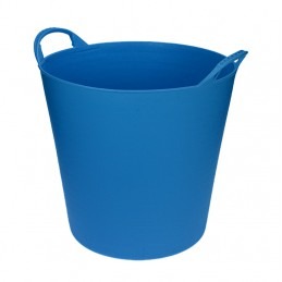 Flexibele Tuinmand 20 liter licht blauw