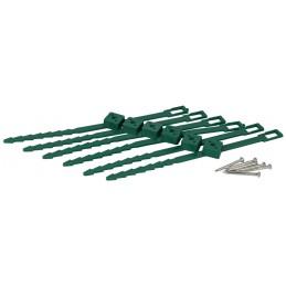 Klimplantgeleiders 6 stuks 25-45 mm