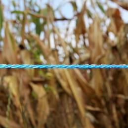 Schrikdraad 3mm blauw 400m